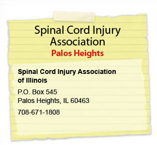 LaGrange Spinal Cord Injury Association Spinal Cord Injury Association of Illinois 1032 S. La Grange Road La Grange, IL 60525 708.352.6223