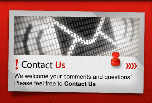 Contact Us We welcome your comments and questions! Please feel free to Contact Us